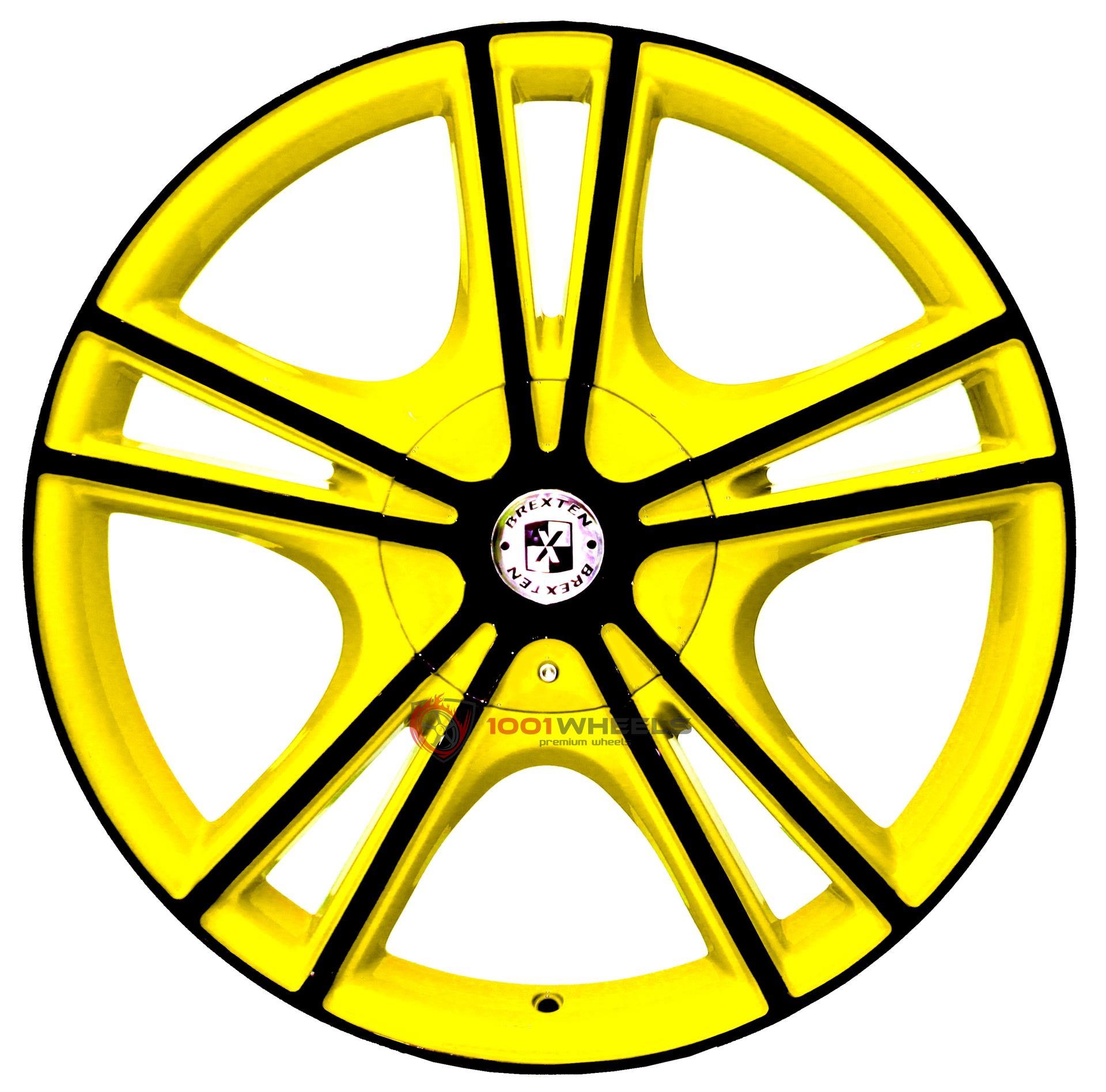BREXTEN CUSTOM BX-25 yellow-with-black