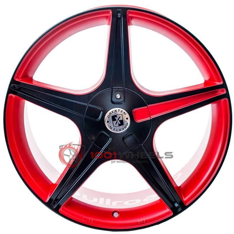 BREXTEN CUSTOM BX-5 mate-red-and-black