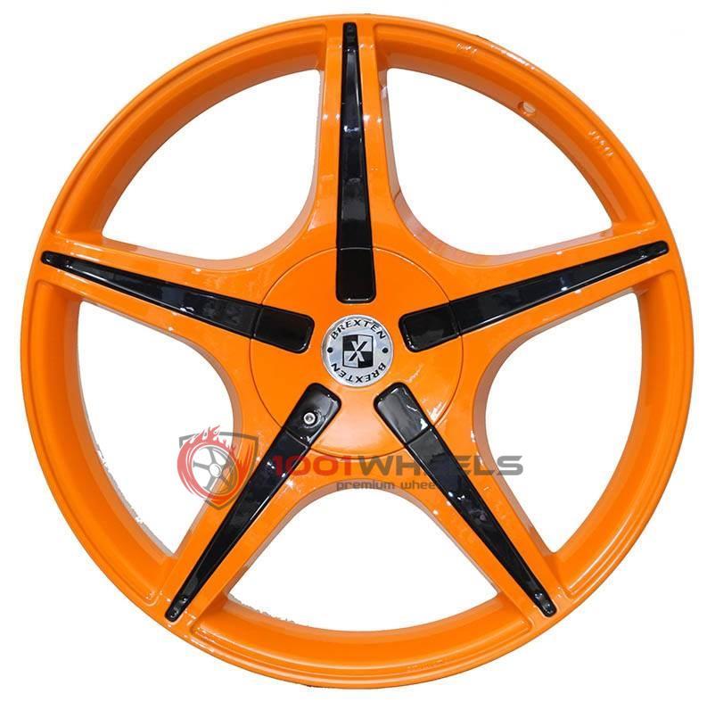 BREXTEN CUSTOM BX-5 orange-and-black