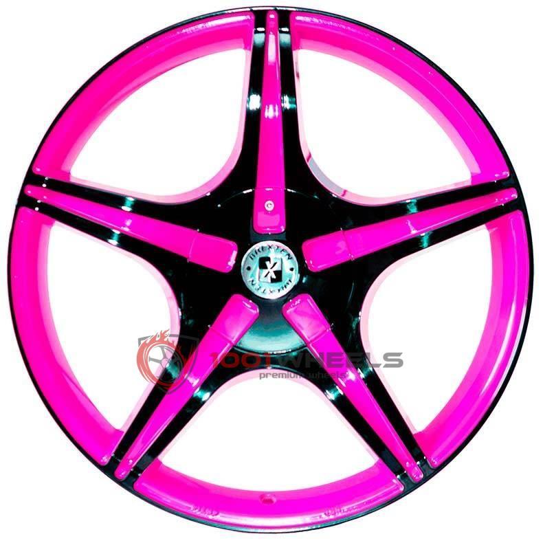 BREXTEN CUSTOM BX-5 pink-and-black