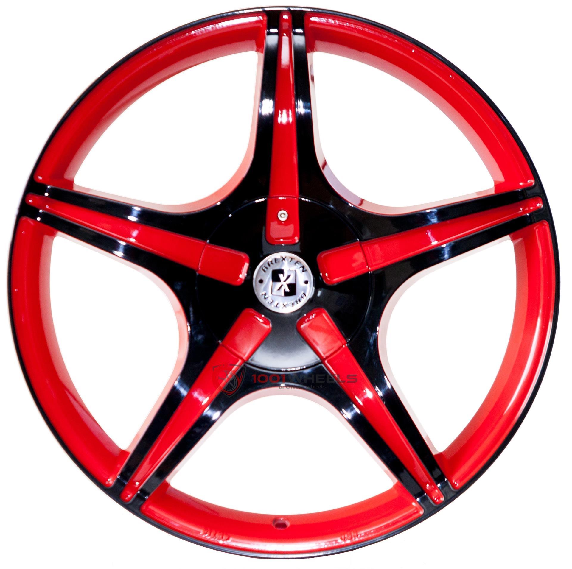 BREXTEN CUSTOM BX-5 red-and-black
