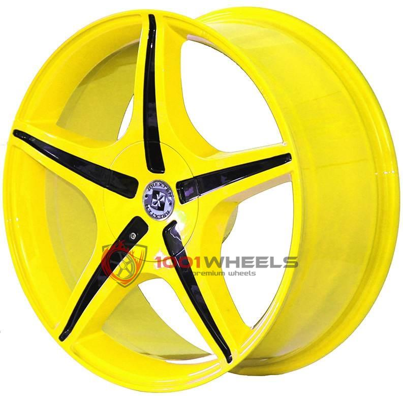 BREXTEN CUSTOM BX-5 yellow-with-black
