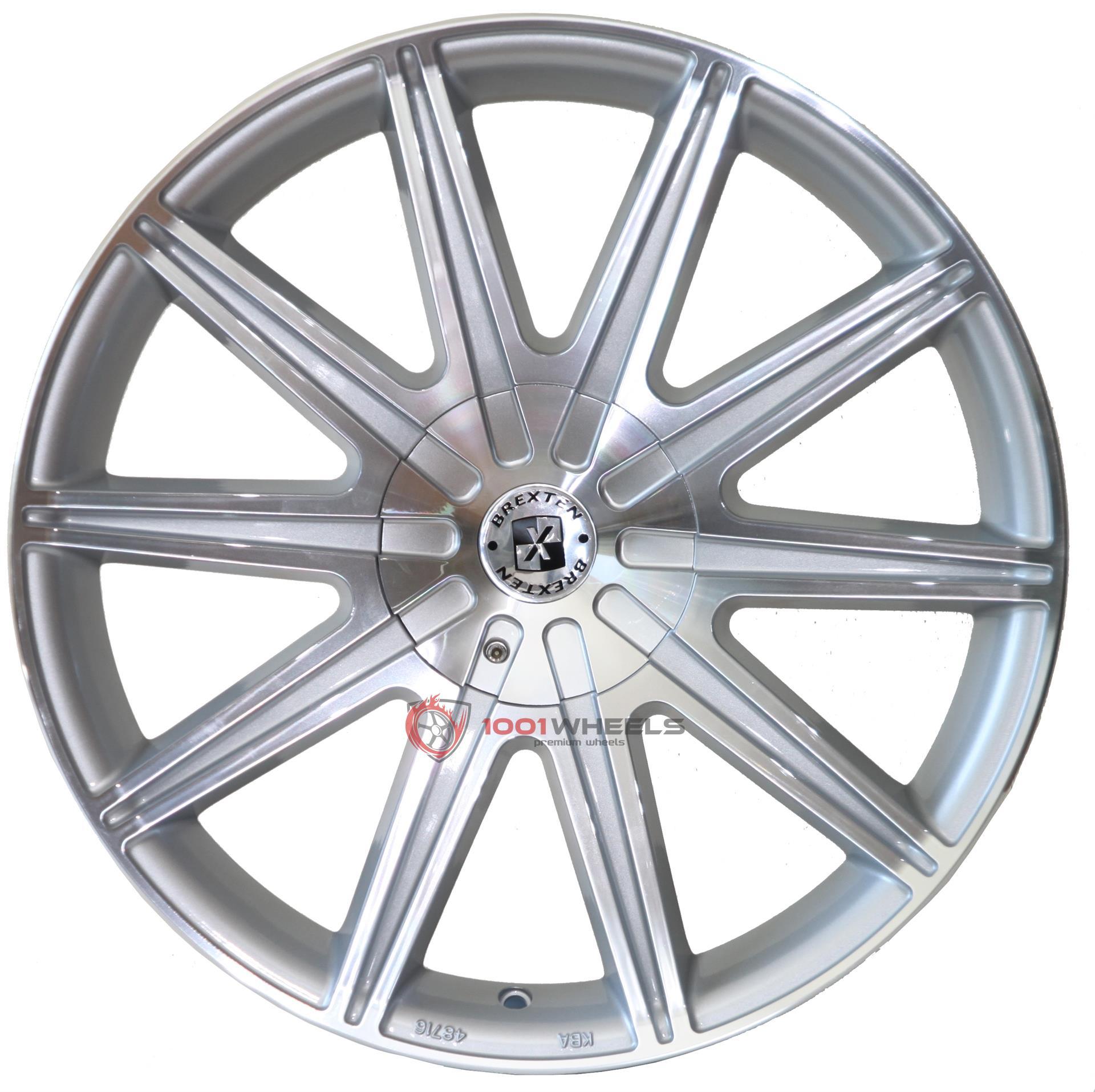BREXTEN BX-10 silver-polished