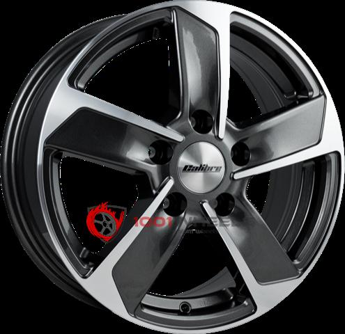 Calibre Freeway gunmetal-polished