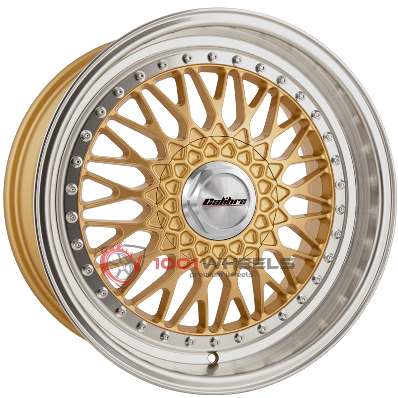 Calibre Vintage gold-polished-lip