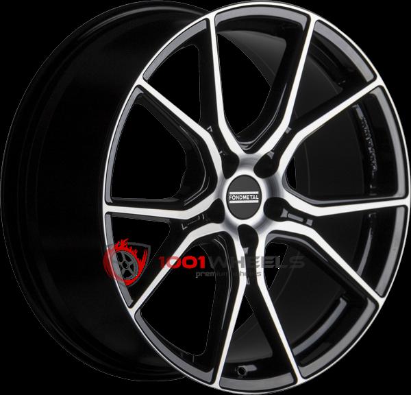 FONDMETAL STC-45 glossy-black-machined