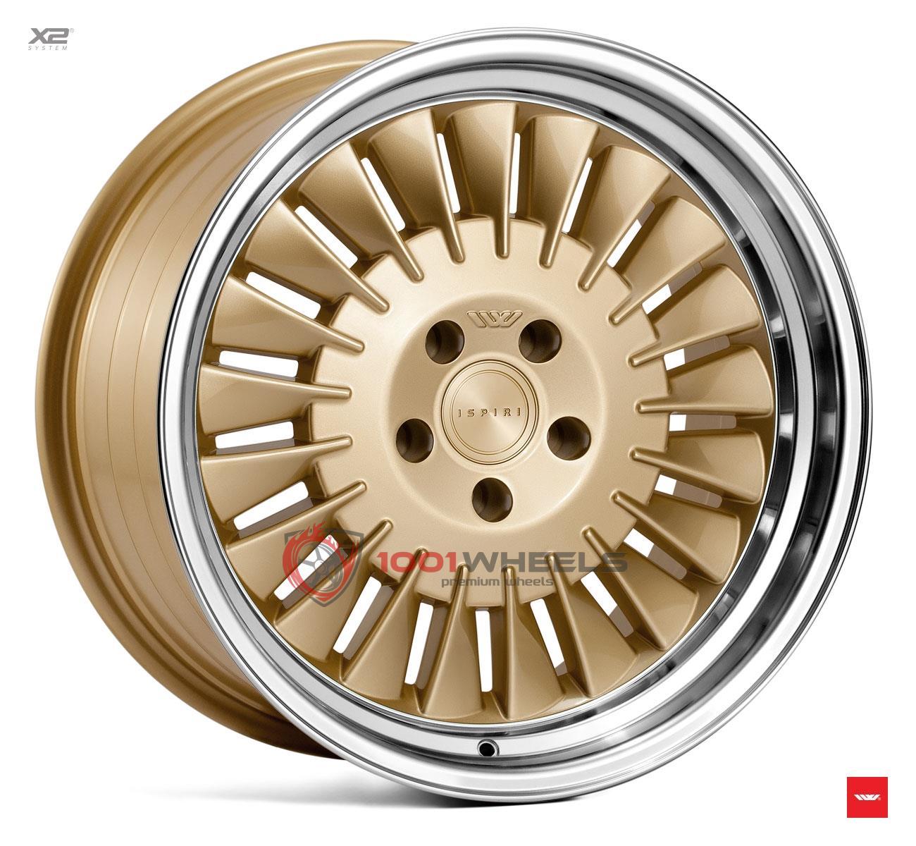 ISPIRI CSR1D vintage-gold-polished-lip