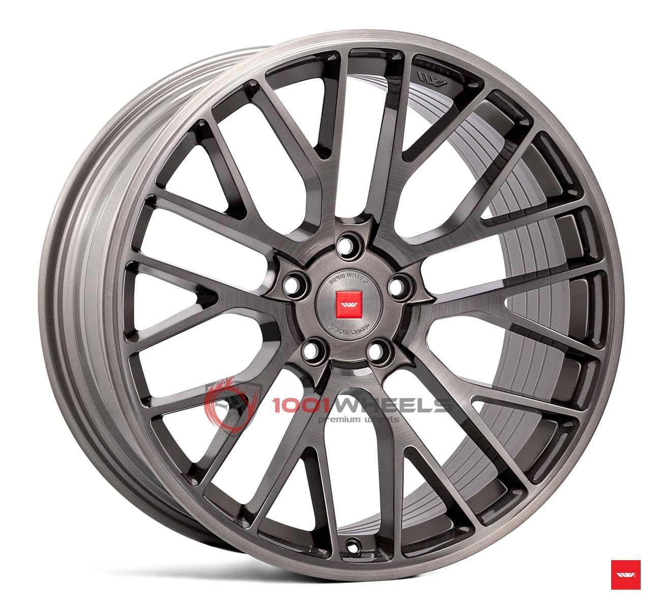 ISPIRI FFP1 carbon-grey-brushed