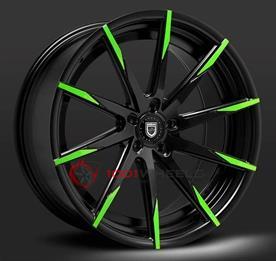 LEXANI CSS15 black-green-tip