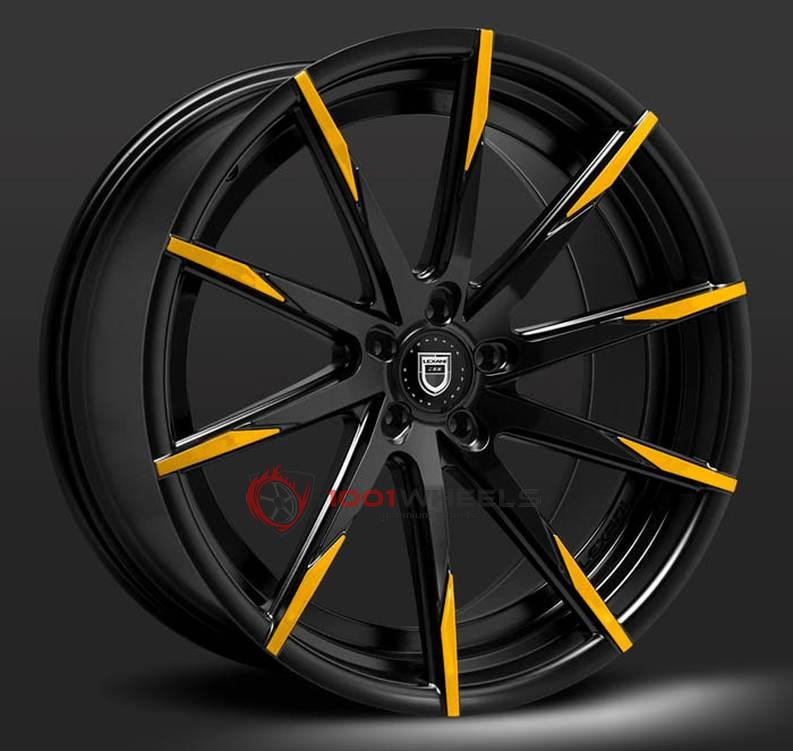 LEXANI CSS15 black-orange-tip
