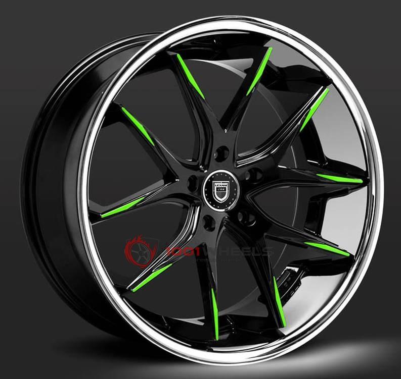LEXANI R-TWELVE black-green-ssl