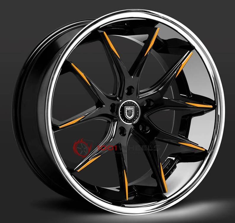 LEXANI R-TWELVE black-orange-ssl
