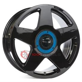 Roll19 R14 gloss-black-center-lock-blue