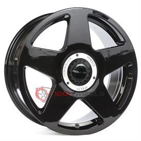 Roll19 R14 gloss-black-center-lock-white