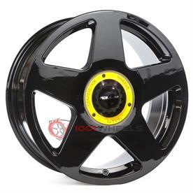 Roll19 R14 gloss-black-center-lock-yellow
