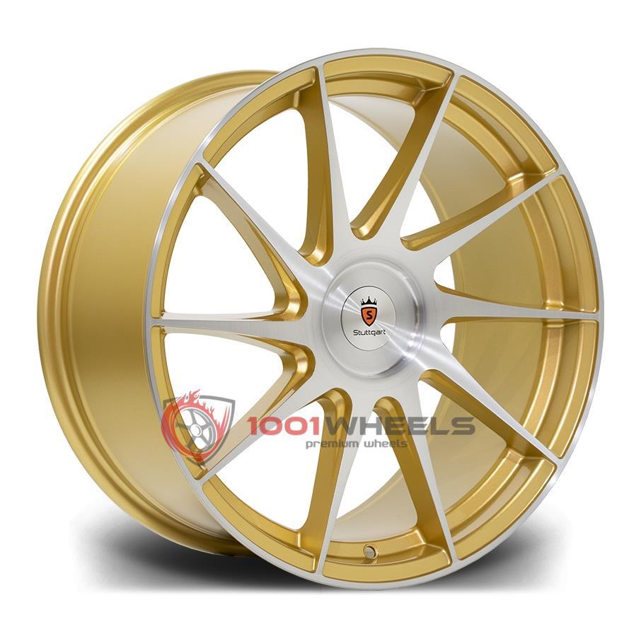 STUTTGART SF11 gold-brushed