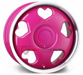 TANSY Love pink-polish