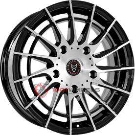 Wolfrace Eurosport Aero Super T gloss-black-polished